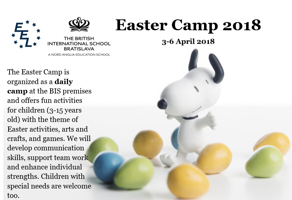 Easter camp 2018